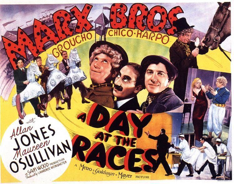 A Day at the Races (film) Marx Brothers A Day at the Races DVDbash