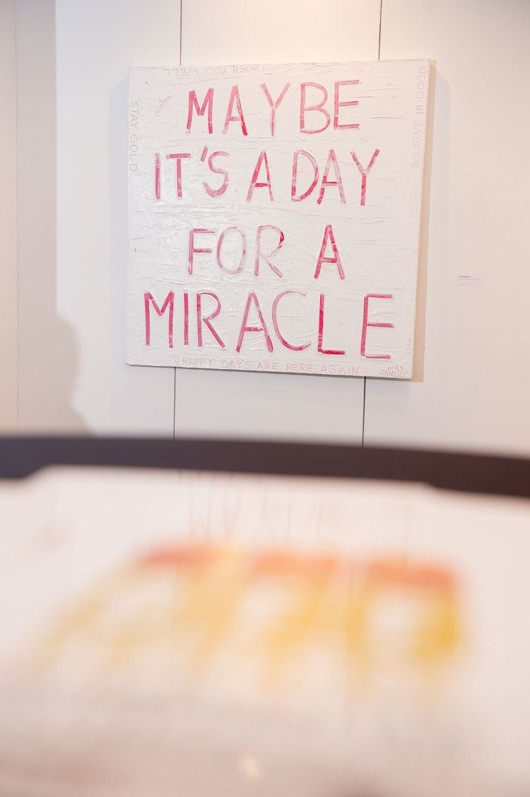 A Day for a Miracle MAYBE ITS A DAY FOR A MIRACLE Dirk Janssens
