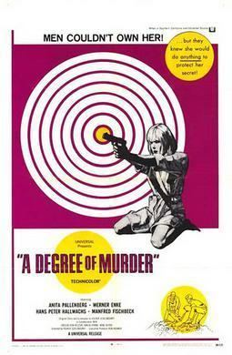 A Degree of Murder movie poster