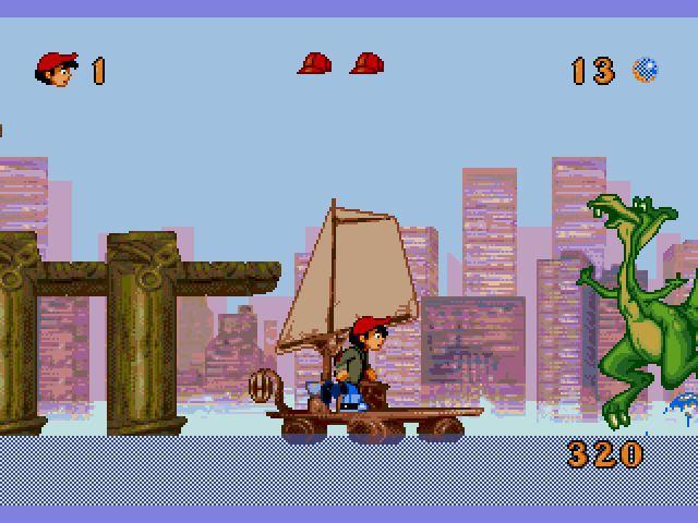 A Dinosaur's Tale Sega Megadrive