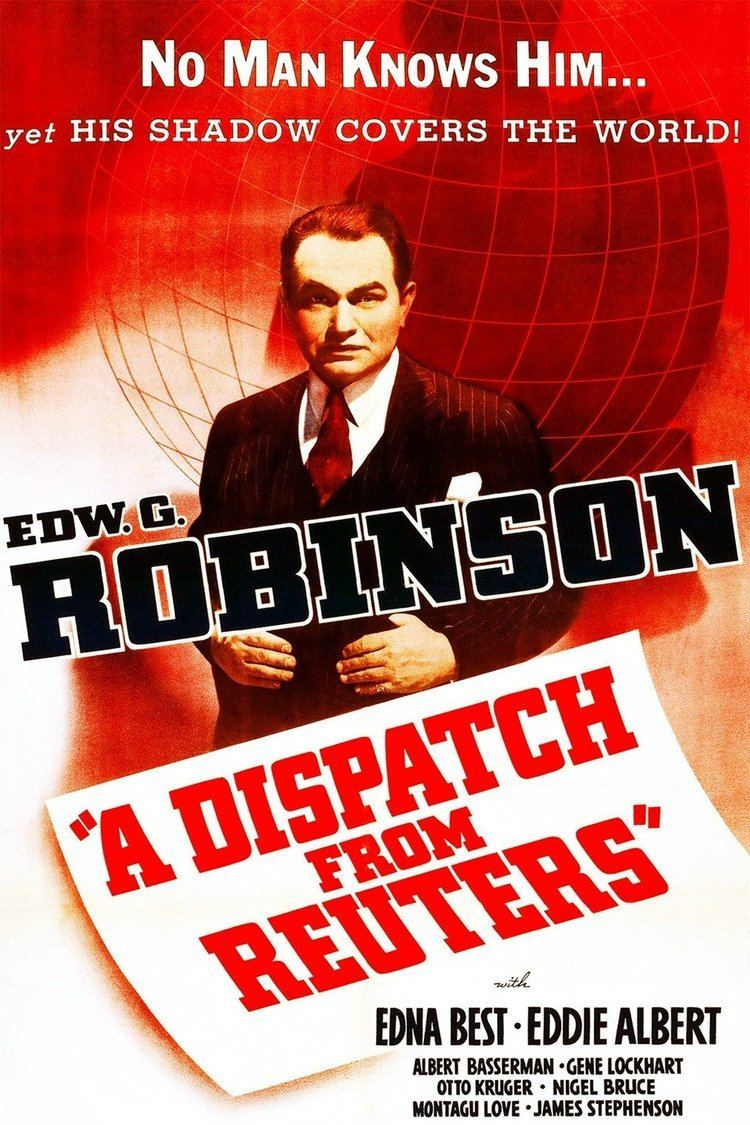 A Dispatch from Reuter's wwwgstaticcomtvthumbmovieposters37416p37416