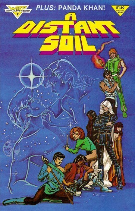 A Distant Soil A Distant Soil 1 Warp Graphics ComicBookRealmcom
