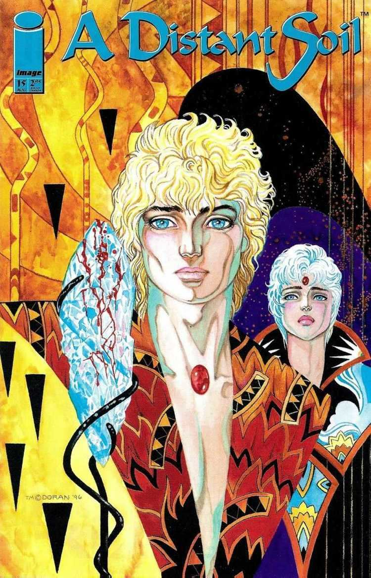 A Distant Soil A Distant Soil 15 Ascension Part III Issue