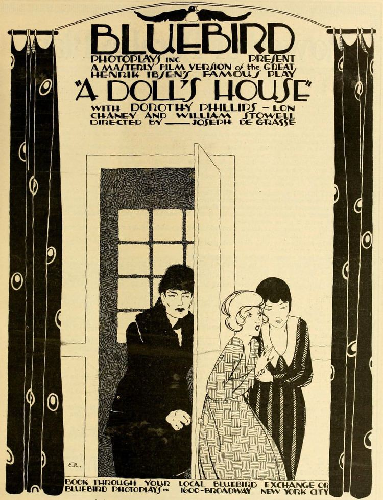 A Doll's House (1918 film) A Dolls House 1917 film Wikipedia
