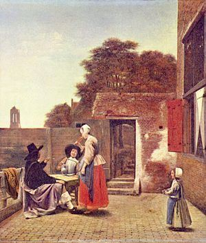 A Dutch Courtyard httpsuploadwikimediaorgwikipediacommonsthu