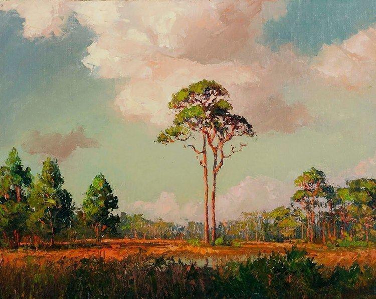 A. E. Backus Florida Fine Art Blog ARTIST SPOTLIGHT A E Beanie Backus