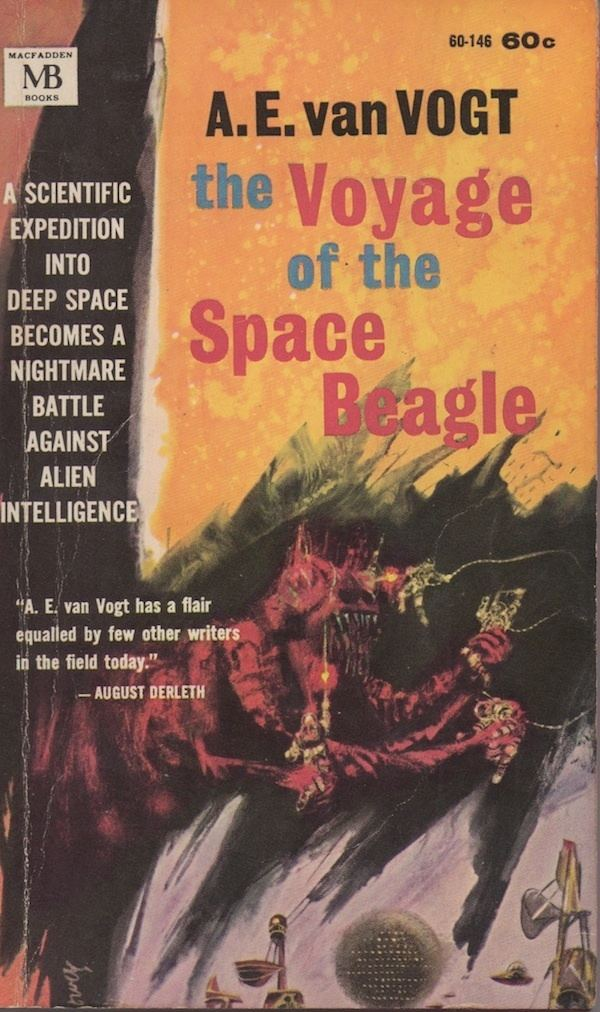 A. E. van Vogt The Infuriating and Essential Science Fiction of AE Van Vogt The