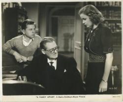 A Family Affair (1937 film) A Family Affair 1937 Starring Lionel Barrymore Cecilia Parker