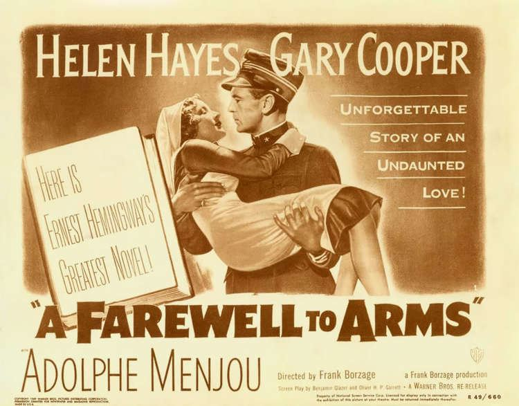 A Farewell to Arms (1932 film) A Farewell to Arms with Helen Hayes Gary Cooper The OscarWinning