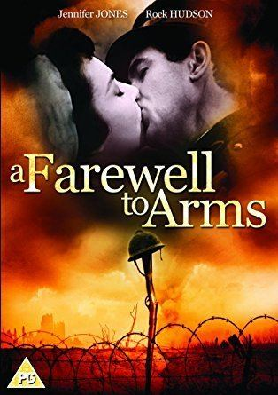 A Farewell to Arms (1957 film) A Farewell to Arms DVD 1957 Amazoncouk Rock Hudson Jennifer