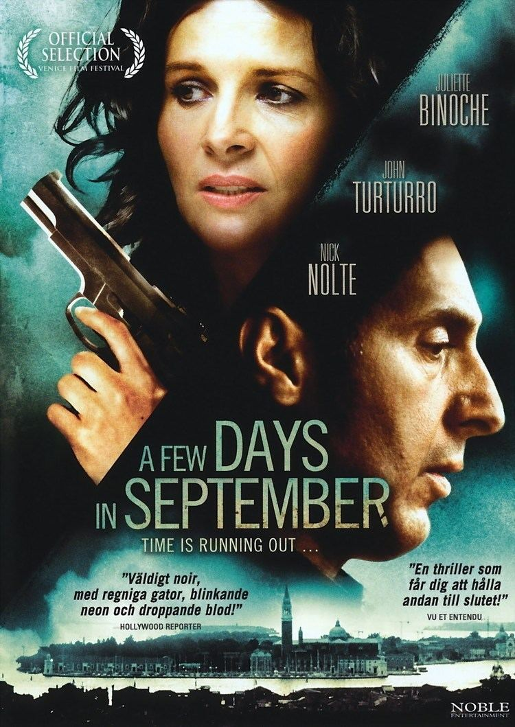 A Few Days in September Subscene Subtitles for A Few Days in September Quelques jours en