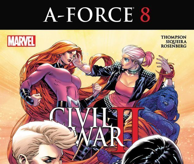 A-Force AForce 2016 Present Comic Books Comics Marvelcom