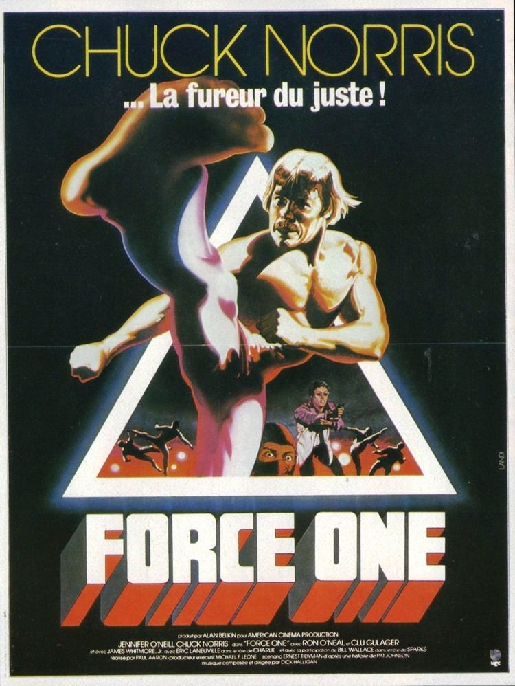 A Force of One Poster for A Force of One 1979 USA Wrong Side of the Art