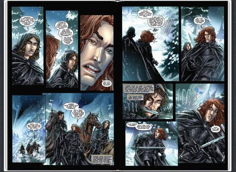 A Game of Thrones (comics) A Game of Thrones Comic Book Issue 1 by George RR Martin on iBooks