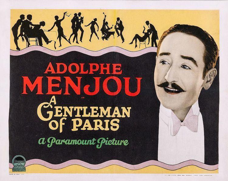 A Gentleman of Paris (1927 film) A Gentleman of Paris 1927 film Wikipedia