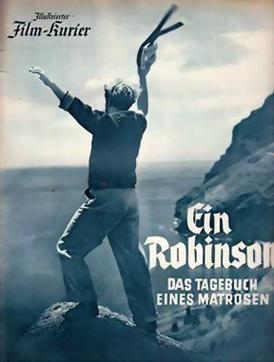 A German Robinson Crusoe movie poster