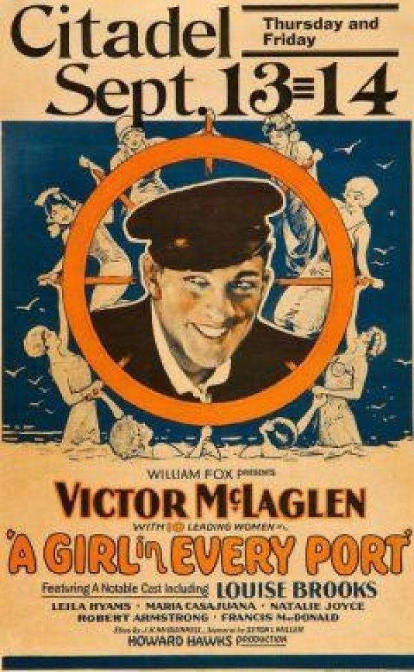 A Girl in Every Port (1928 film) A Girl In Every Port Howard Hawks 1928 Full Movie Original
