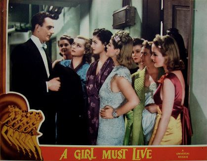 A Girl Must Live A Girl Must Live 1939 film