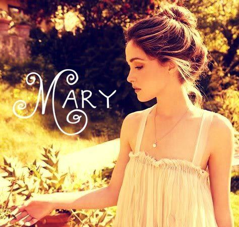 A Girl Named Mary The Modern Mary on hold In which a girl named Mary is visited by