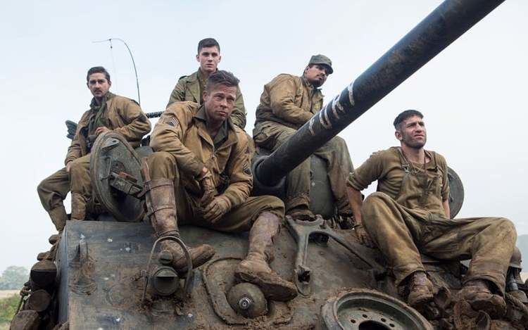 A Glimpse of Tiger movie scenes Video Fury behind the scenes of the ultimate tank movie starring Brad Pitt Telegraph