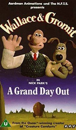 A Grand Day Out Wallace Gromit A Grand Day Out VHS Peter Sallis Nick Park