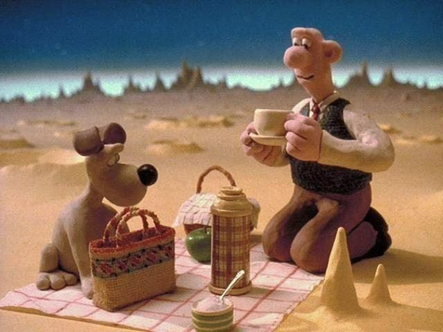 A Grand Day Out Aardman images Wallace Gromit A Grand Day Out wallpaper and