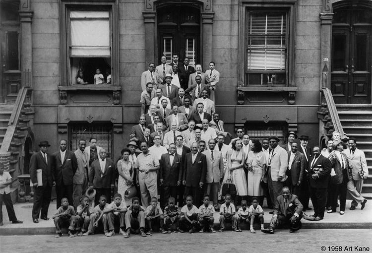 A Great Day in Harlem (photograph) A Great Day in Harlem 57 of the greatest jazz musicians of all time