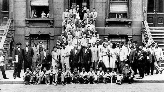 A Great Day in Harlem (photograph) August 12 1958 A Great Day in Harlem The Daily Dose