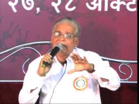 A. H. Salunkhe Dr A H Salunkhe in 9th Marath Sahitya Samalan Oct 2010 1 YouTube