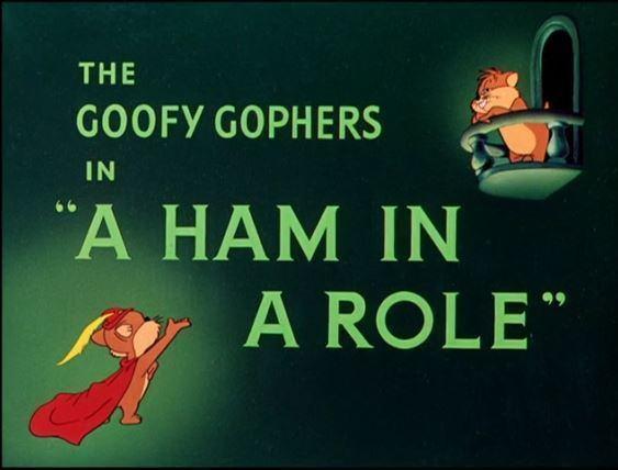 A Ham in a Role Looney Tunes A Ham In A Role B99TV