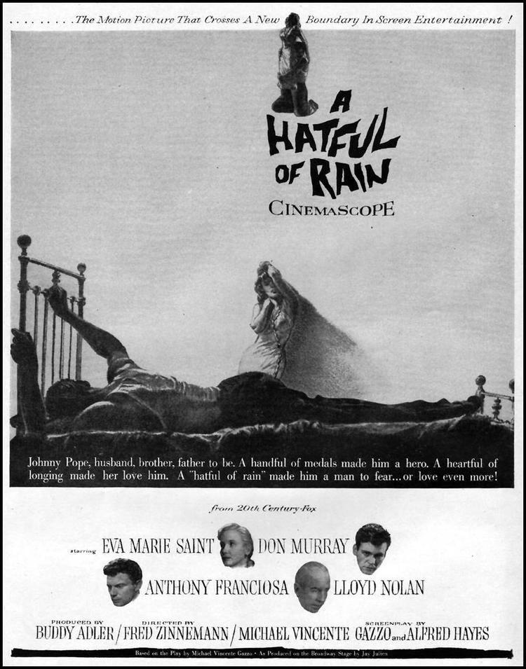 A Hatful of Rain Tuesdays Overlooked Film A Hatful of Rain