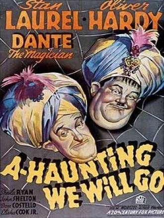 A-Haunting We Will Go (1942 film) Flip i Flap Trumna pod sufitem A Haunting We Will Go 1942