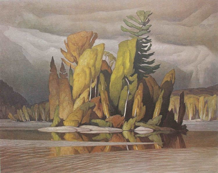 A. J. Casson Art Country Canada Group Of Seven A J Casson