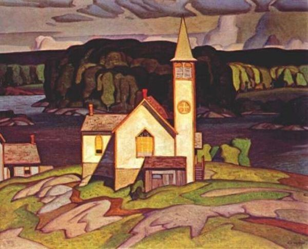A. J. Casson Paintings by A J Casson