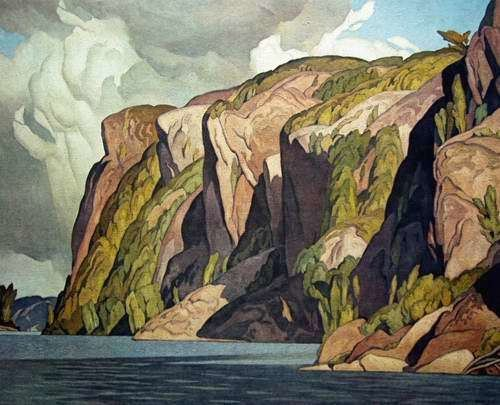 A. J. Casson Bon Echoquot By AJ Casson ManorHill Fine Art