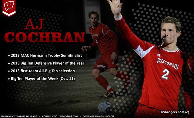 A. J. Cochran Alec Cochran Named Hermann Trophy Semifinalist Soccer STL