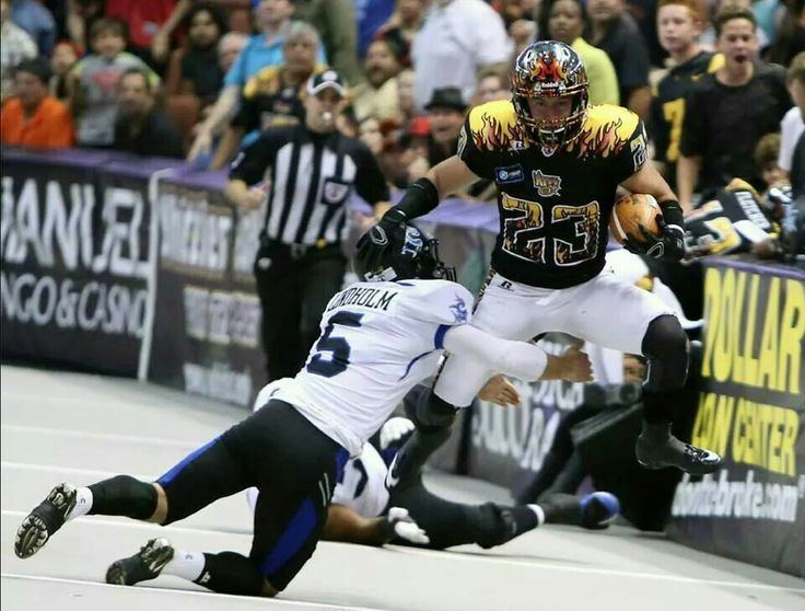 A. J. Cruz Arena Football player AJ Cruz of the Arizona Rattlers