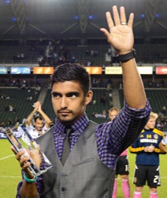 A. J. DeLaGarza Galaxy Insider Player Ratings AJ DeLaGarza LA Galaxy