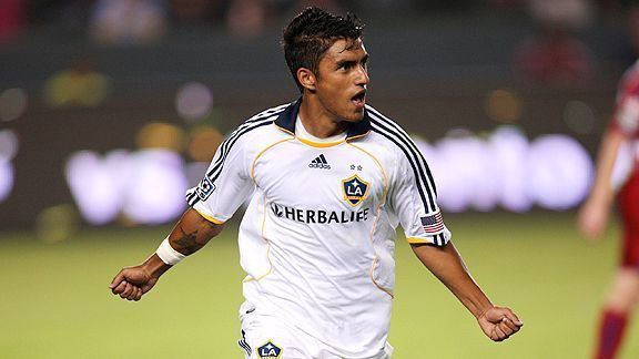 A. J. DeLaGarza LA Galaxy39s AJ DeLaGarza wants to swap shirts with Ryan