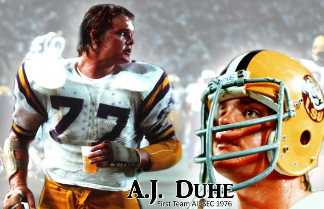 A. J. Duhe Tiger Great AJ Duhe to Appear at Andonie Museum