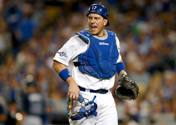 A. J. Ellis Dodgers39 AJ Ellis avoids Cracker Barrel loses 15 pounds
