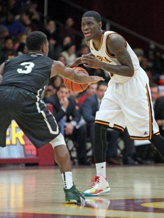 A. J. English (basketball, born 1992) English becoming a shooting star for Iona