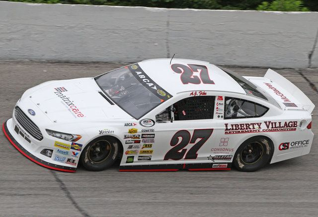 A. J. Fike Fatherson Fike duo gettin it done ARCA Racing