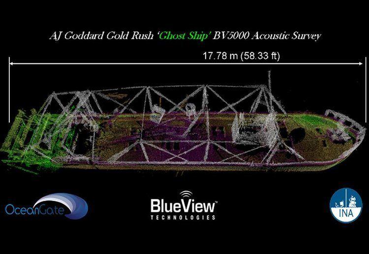 A. J. Goddard AJ Goddard Expedition Creates 3D Sonar Map of Historic Shipwreck
