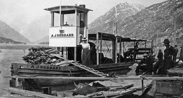 A. J. Goddard Over the Waves AJ Goddard Original Shipster