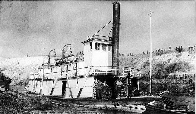 A. J. Goddard This steamboat also sank in Lake Laberge like the AJ Goddard