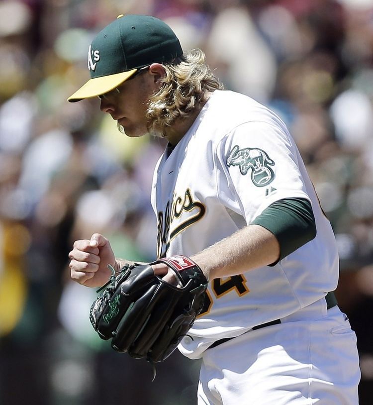 A. J. Griffin Oakland A39s shut AJ Griffin down with shoulder issue