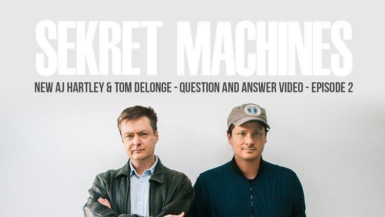 A. J. Hartley Sekret Machines Q A with Tom DeLonge and AJ Hartley Episode 2
