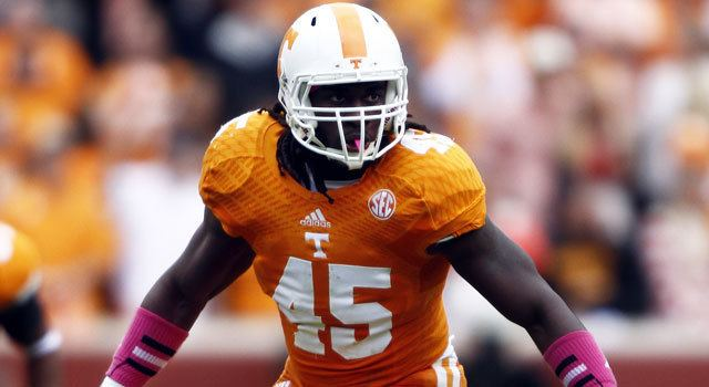 A. J. Johnson (linebacker) Tennessee Volunteers LB AJ Johnson arrested NFLcom