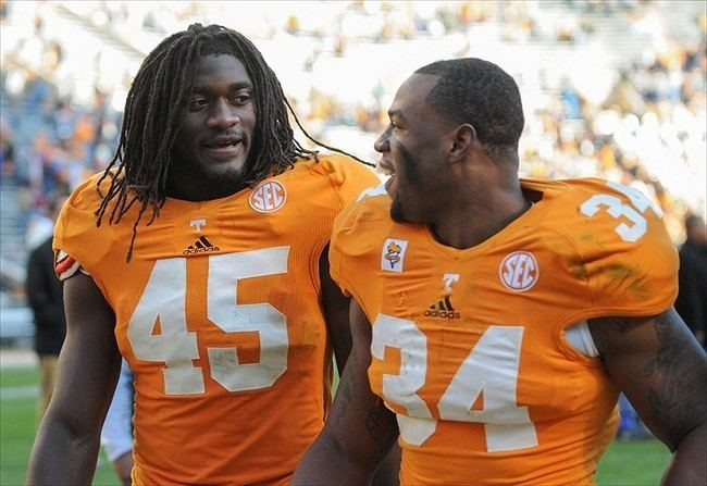 A. J. Johnson (linebacker) Today On Rocky Top Tennessee Volunteers news 528